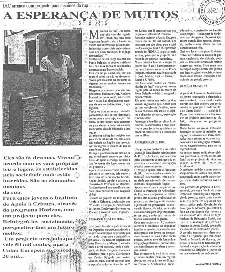 Sem Data / Sem Origem do Jornal
