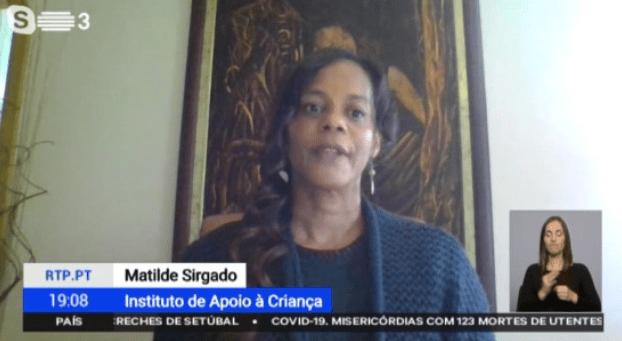 Entrevista de Matilde Sirgado do IAC na RTP 3 sobre o caso Valentina