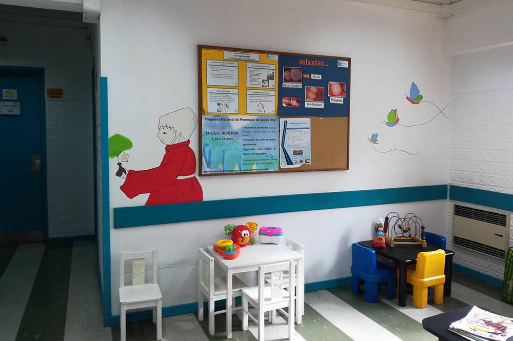 Humanização do Centro de Saúde de Alcântara
