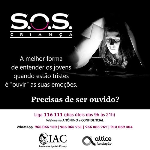 SOS Cartaz
