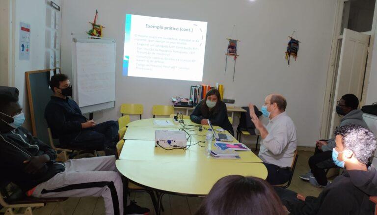 Workshop de Criação do Kit com Informação sobre os Direitos da Criança